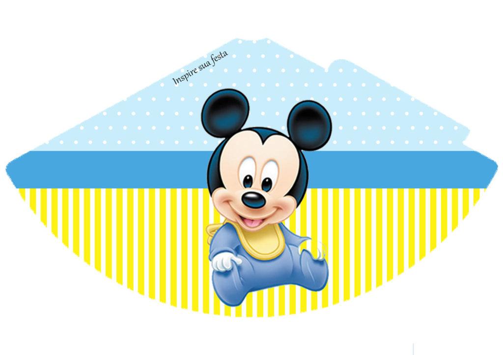 dibujos mickey baby para imprimir
