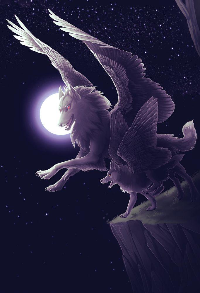 imagenes de lobos de fuego