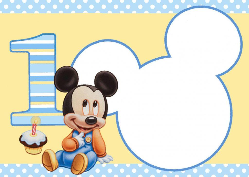 imagenes de mickey mouse para decorar cumpleaños