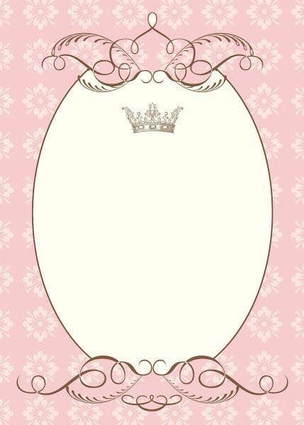 Fondos de princesas para invitaciones fondos de pantalla - Moldes reposteria originales ...