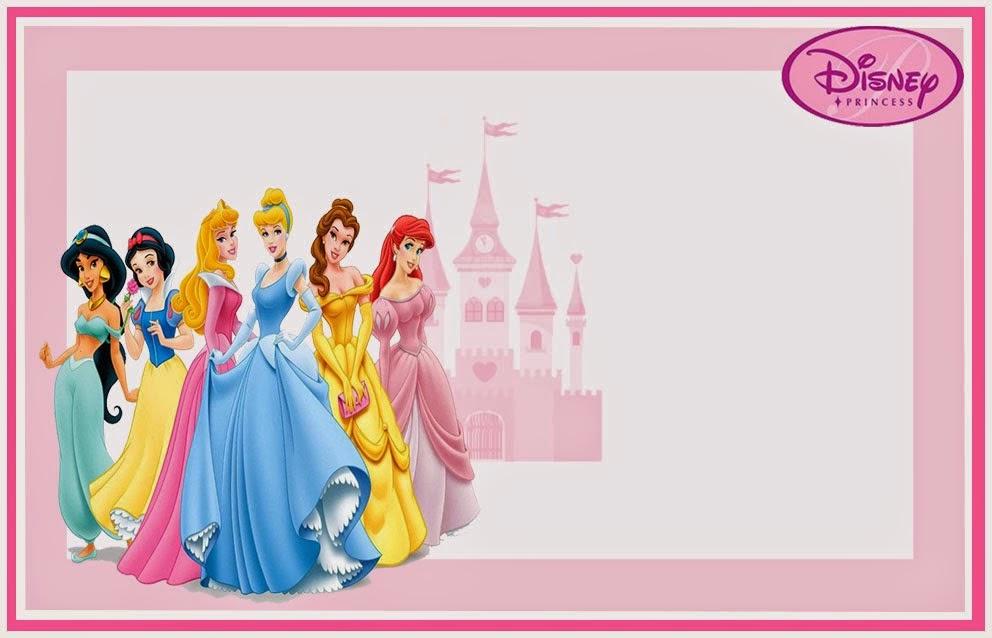 invitaciones de princesas disney gratis