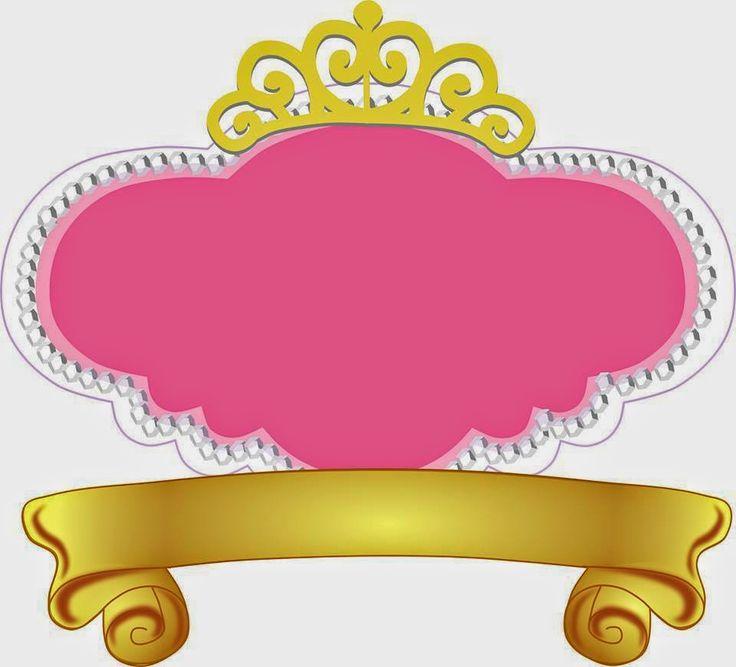 invitaciones de princesas en forma de corona