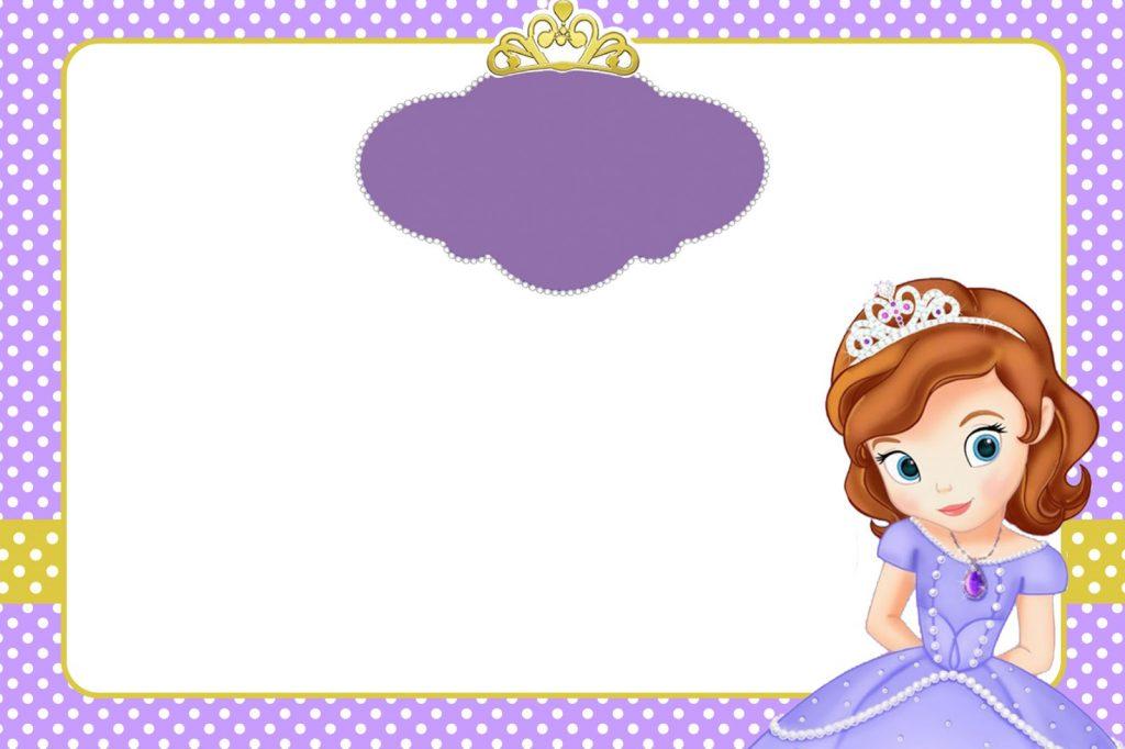 marcos de princesa sofia para fotos png