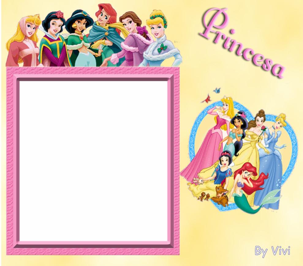 marcos para fotos de princesas disney