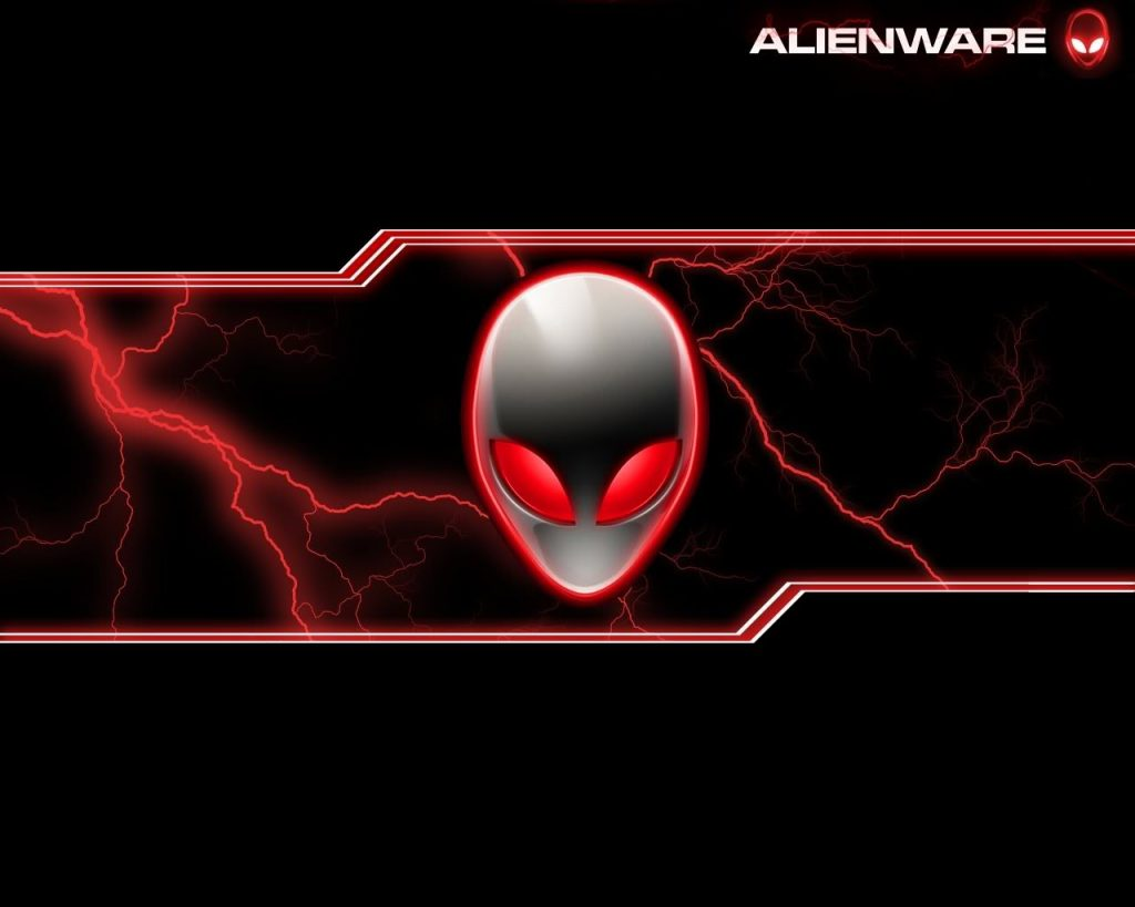Wallpapers alienware rojo