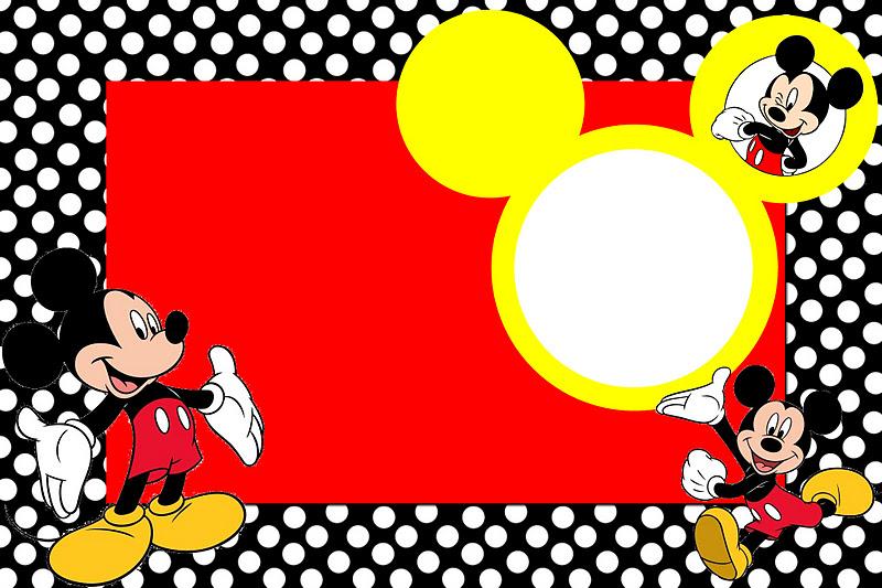 Fondos de Mickeypara invitaciones