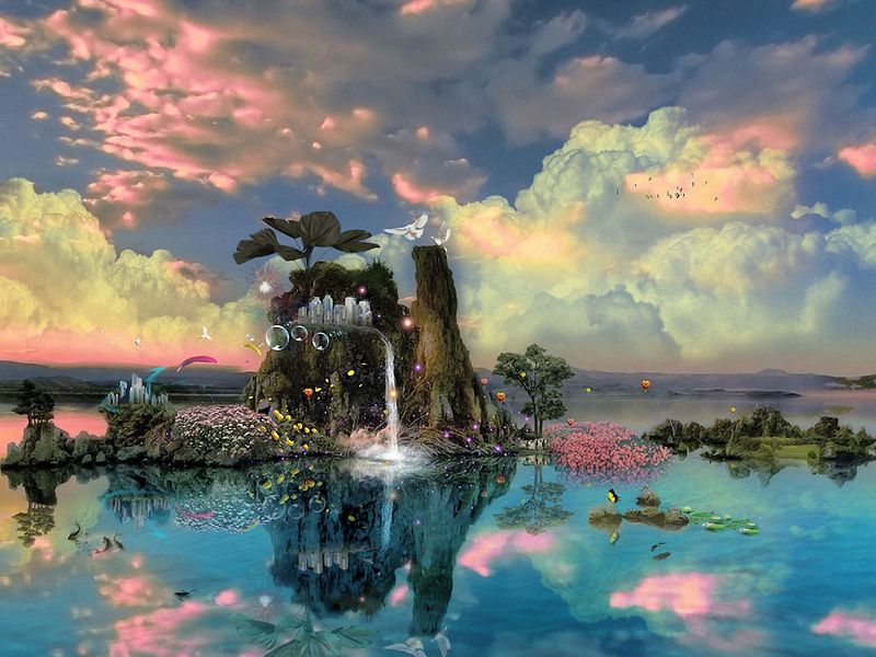 paisajes para fondo de pantalla de computadora 3d