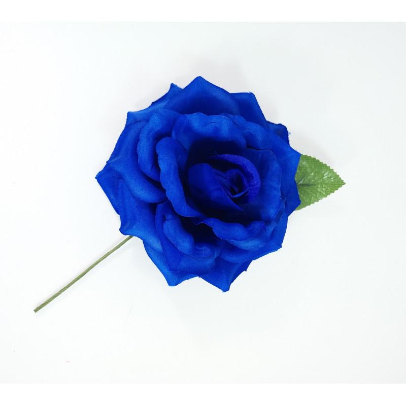 fondo de rosa azul