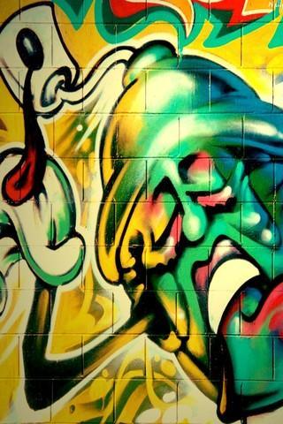 Fondos de graffitispara celular
