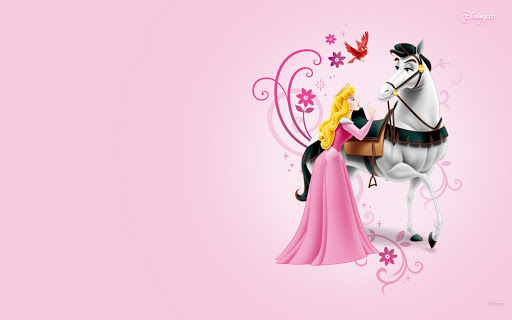 Fondo de princesas Wallpaper