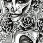 hd wallpaper tattoo girl