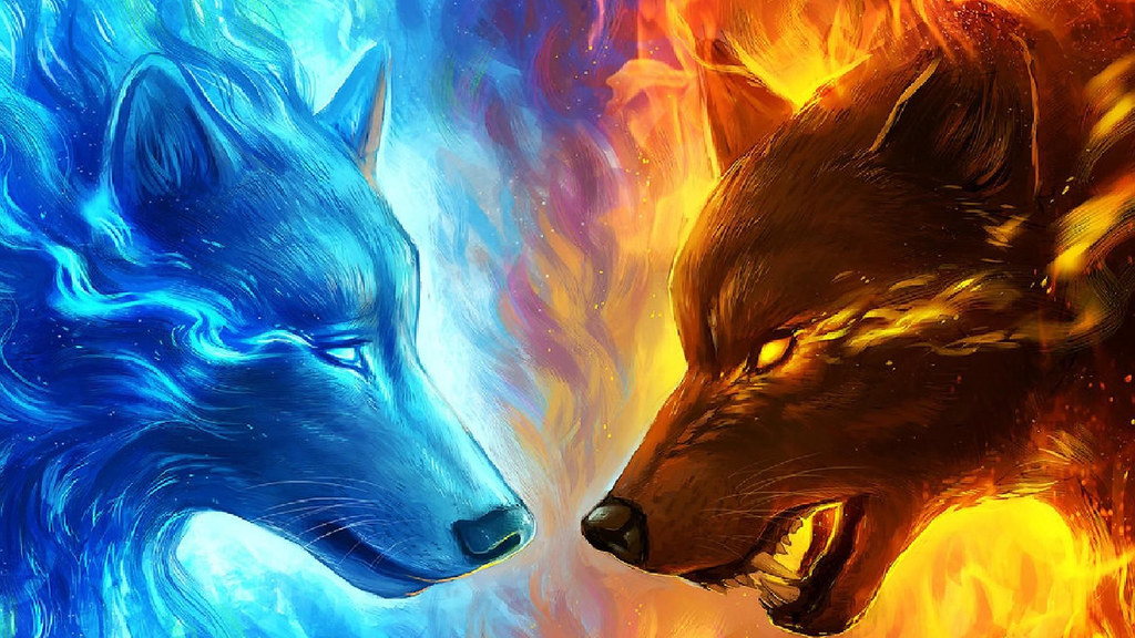 Lobo bueno y malo
