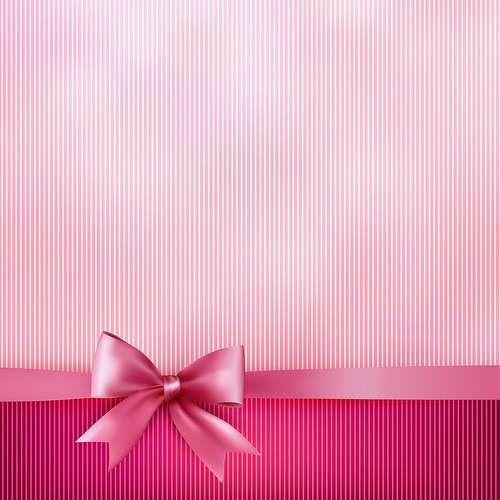 wallpaper rosa de caja de regalo