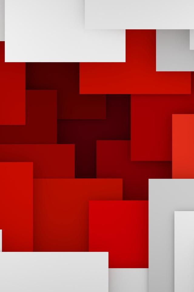 Fondo rojo y blanco