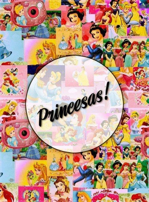 foto collage de princesas