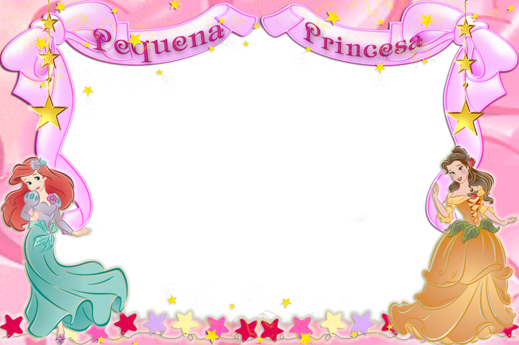 Decorar fotos confondos de princesas