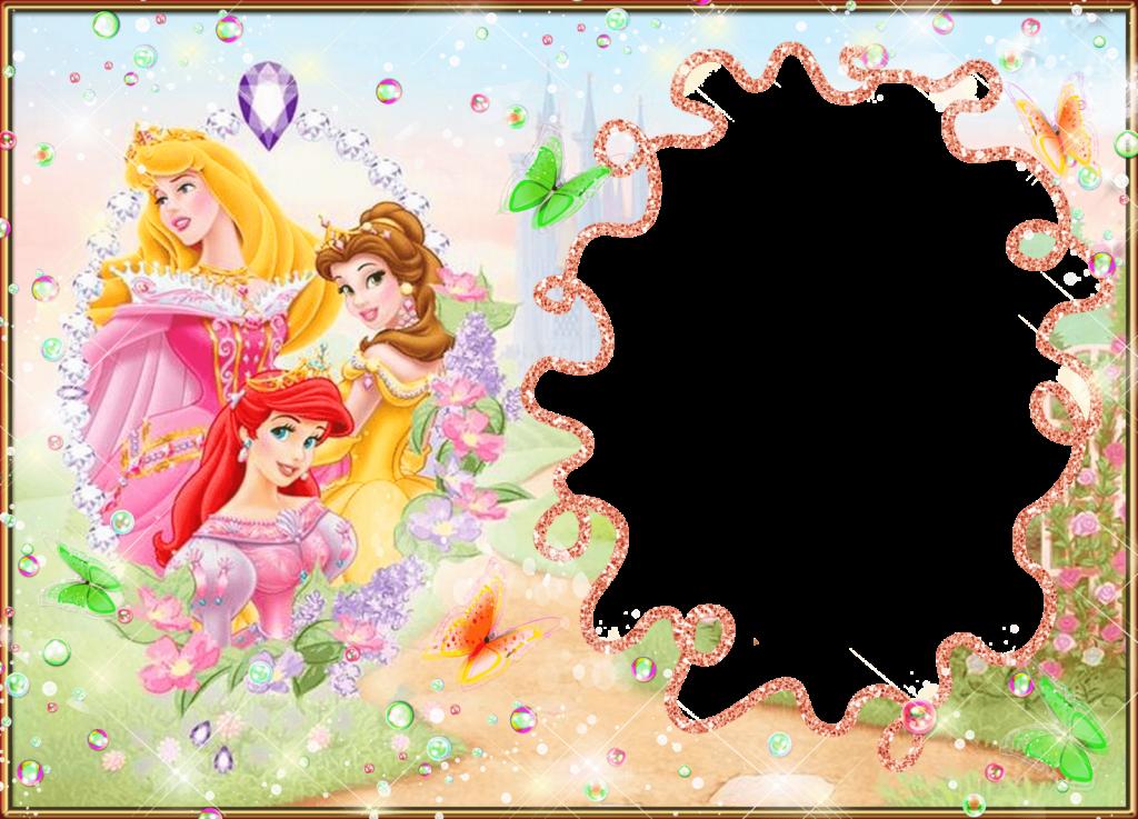 descargar marcos de princesas