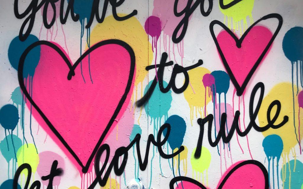graffitis de te amo faciles