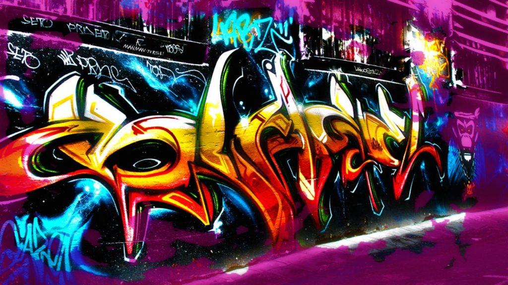 fondos para graffitis de amor