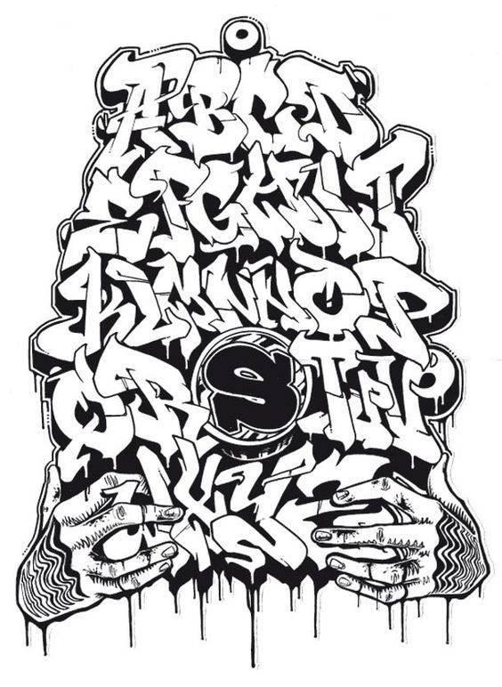 fondos para graffitis en papel