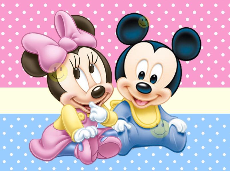 Fondos de Minnie y Mickey bebes