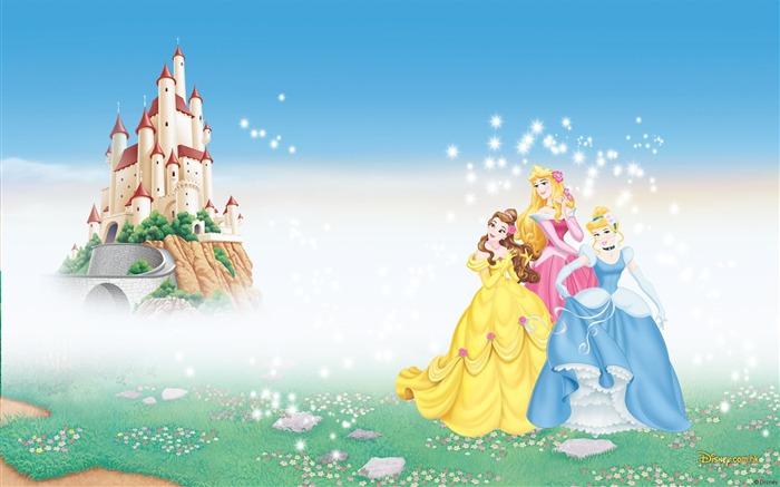 Fondo de Castillo de princesas Disney