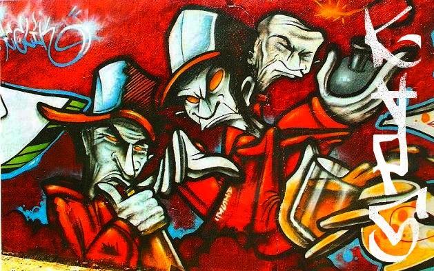 Fondos de graffiti