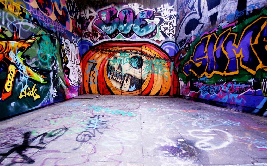 Fondos de graffitispara facebook