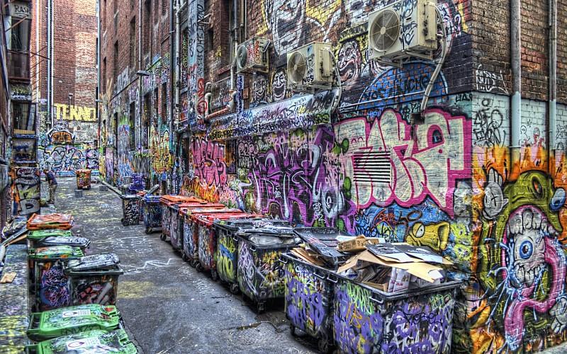 Fondos de graffitispara pc