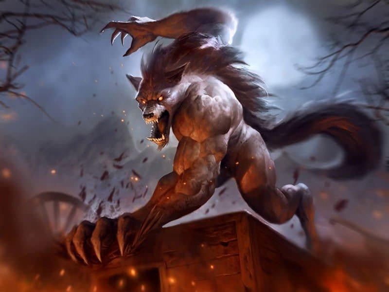 Fondos de hombres lobos