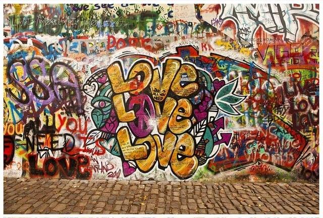 graffitis de te amo mi amor