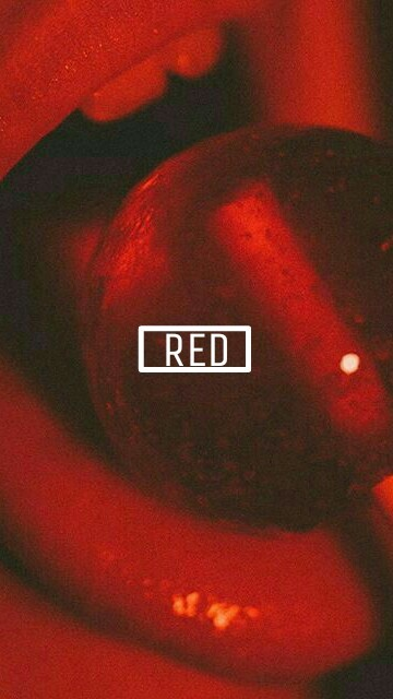 fondos de pantalla rojos tumblr
