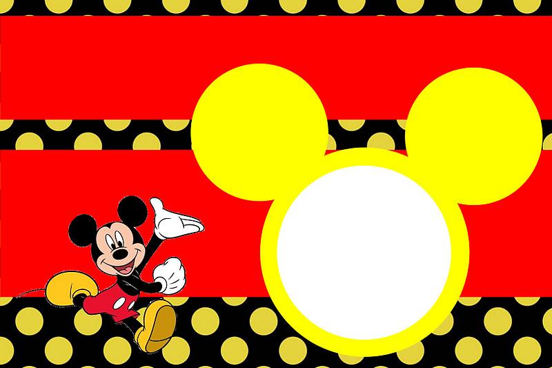 tarjetas de mickey mouse
