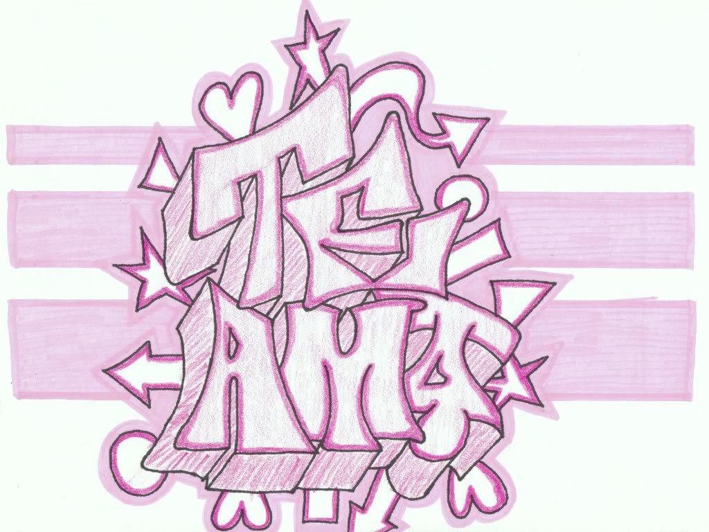 imagenes de graffitis de amor para descargar gratis