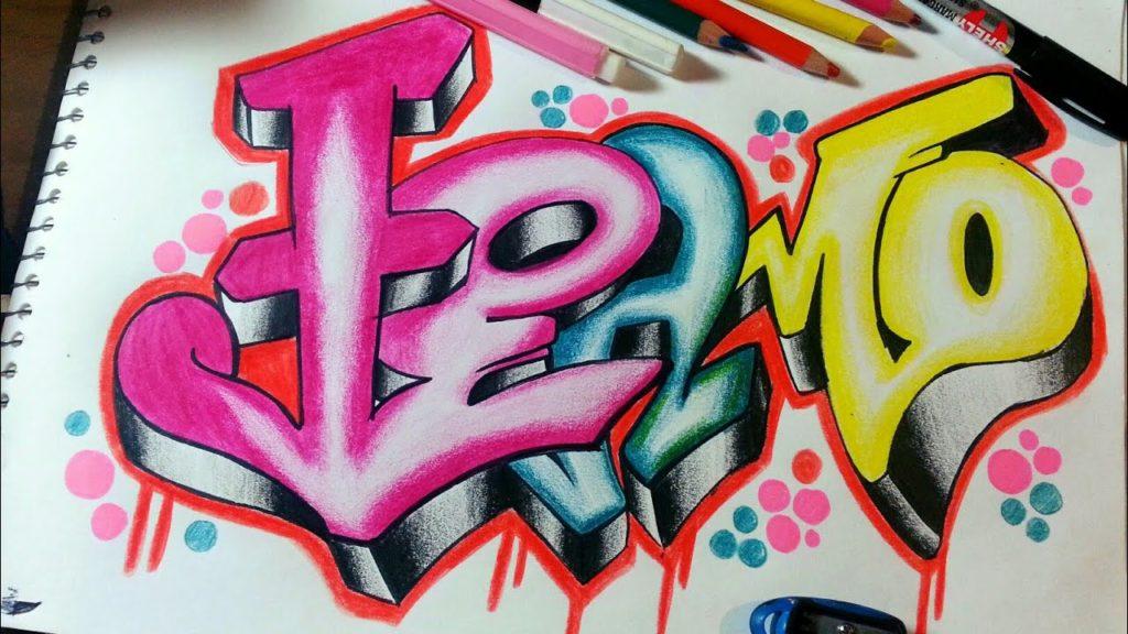 graffitis de te amo chidos