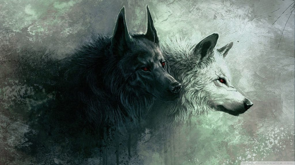 lobo wallpaper hd animado