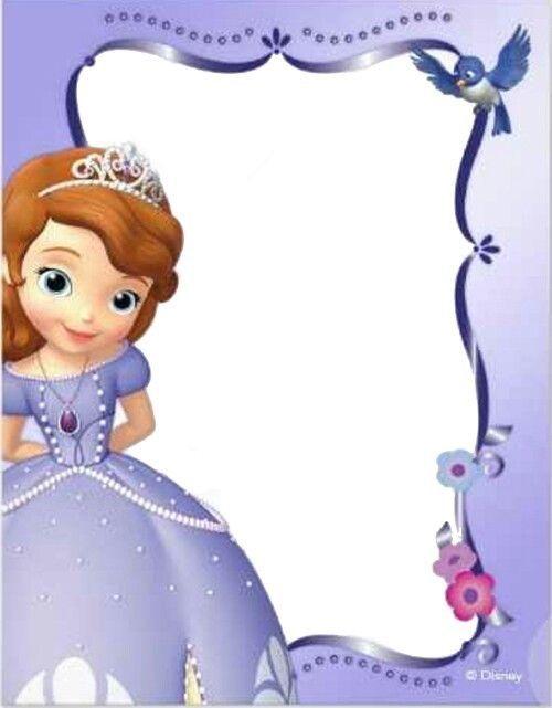 marcos de princesa sofia para descargar