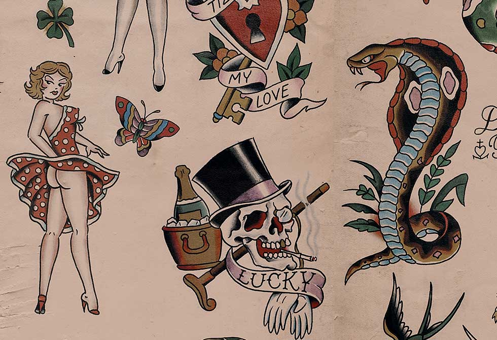 Tattoo wallpaper by cookie bros