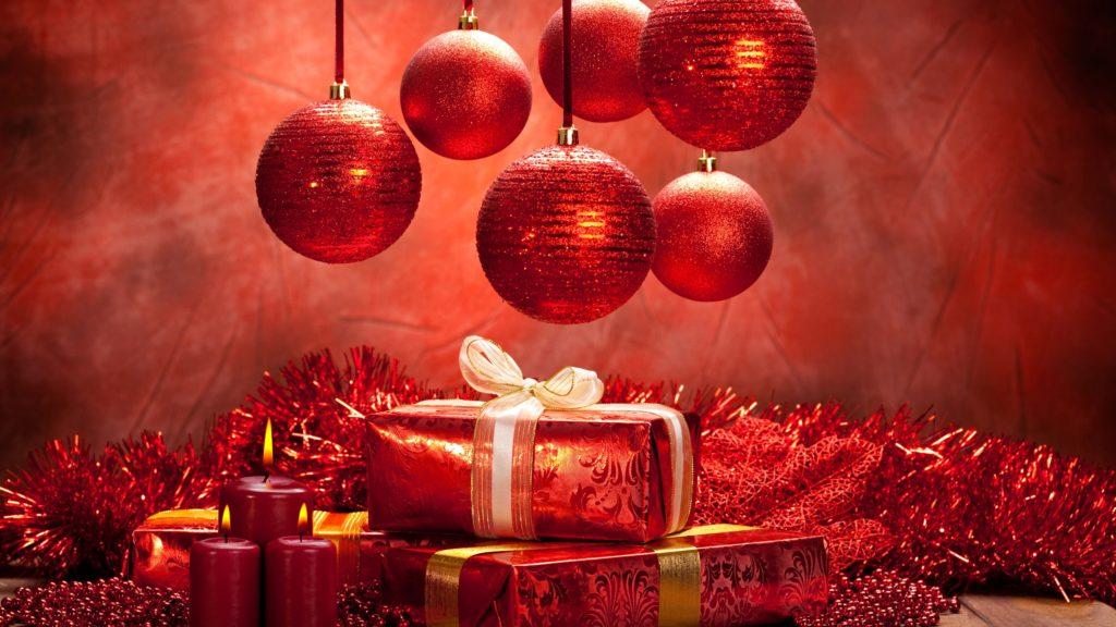 wallpaper navidad rojo