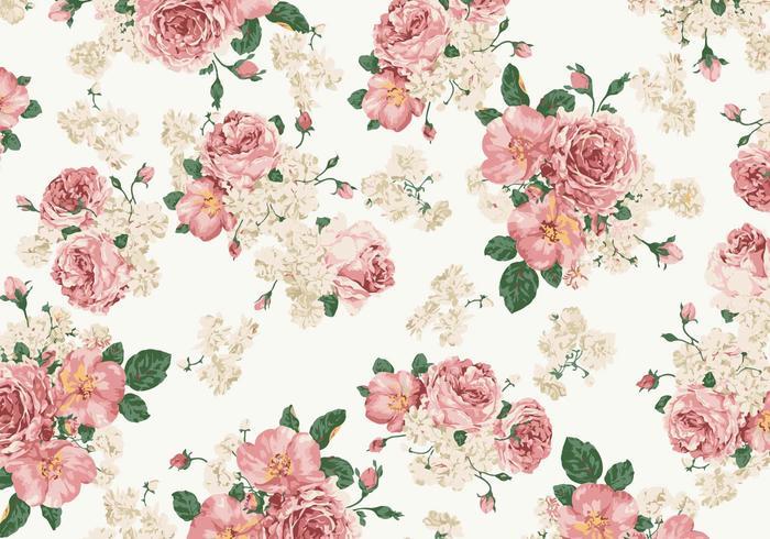wallpaper rosa vintage