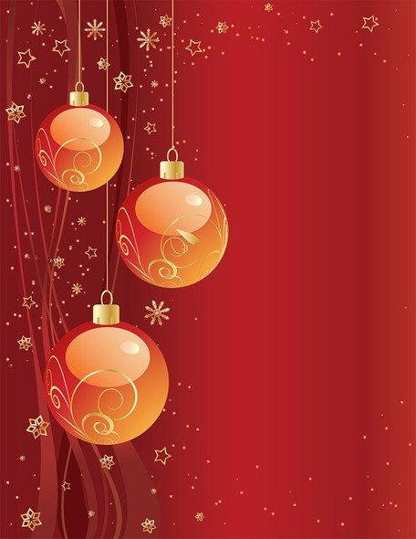 wallpaper de navidad rojo