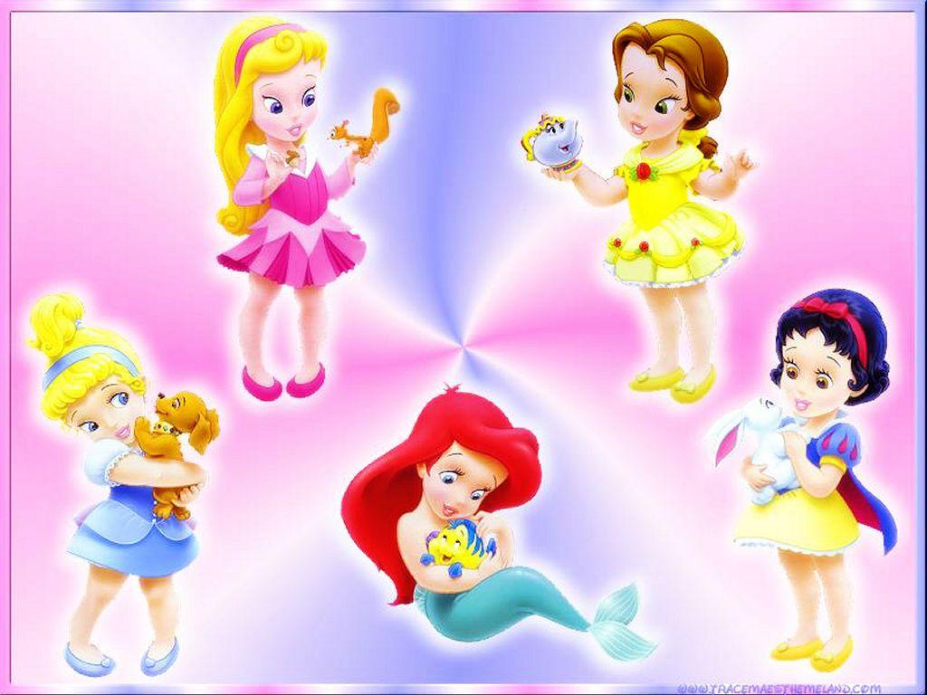 Fondo de princesas en bebes