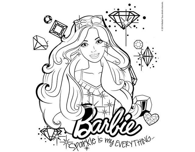 Dibujo de Barbie