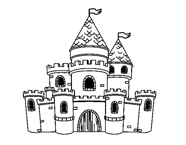 Castillo de imprimir para princesas