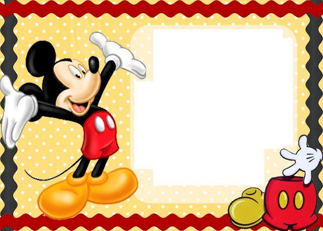 tarjetas de cumpleaños de mickey mouse para imprimir gratis