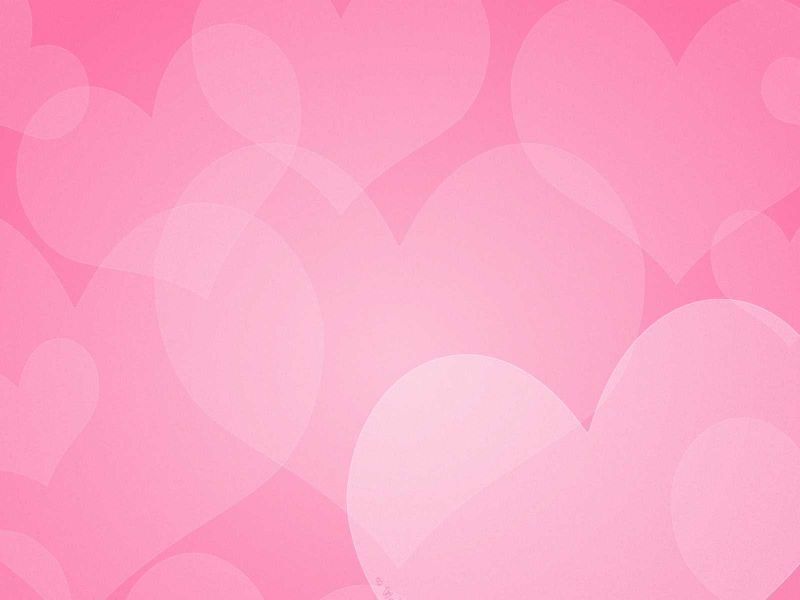 Wallpaper corazones rosas