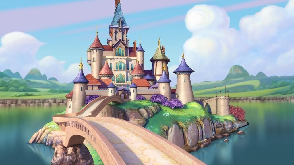 Imagen de castillo princesas de Disney