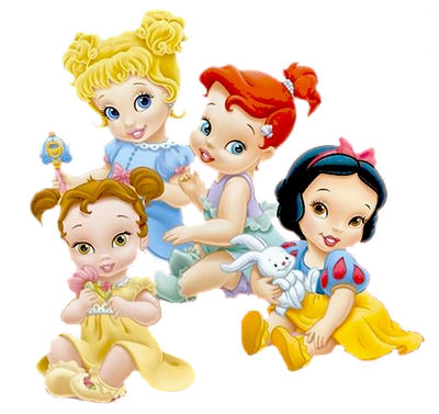 Princesas de Disney bebes