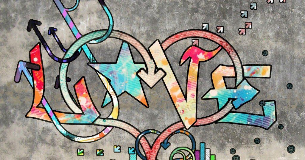 Fondos de graffitisde amor