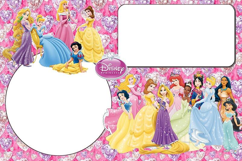 fondos de princesas para fotos de caritas